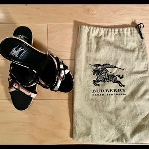 Burberry Wedges Never Worn